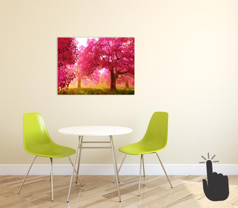 Photo canvas loudspeaker - The most decorative and innovative loudspeaker on the market.